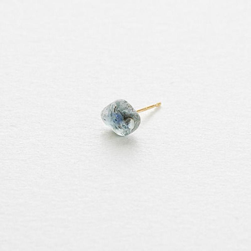 Sapphire Rock Earring