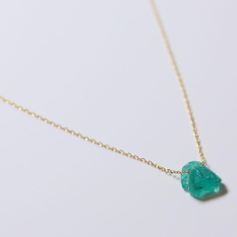 Emerald Loop Bracelet
