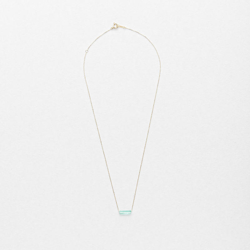 Emerald Top Necklace