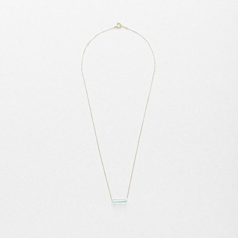 Aquamarine Top Necklace