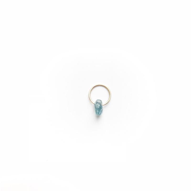 Sapphire Baby Pendant Top (September Birthstone)
