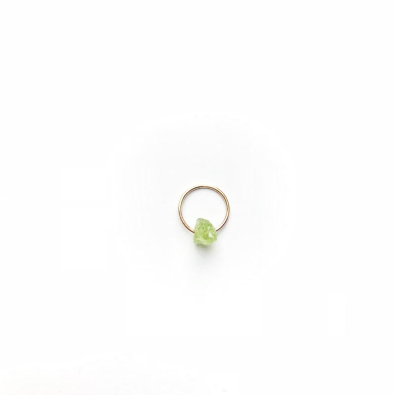 Green Grossular Garnet Baby Pendant Top