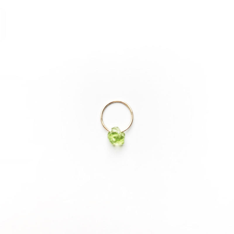 Peridot Baby Pendant Top (August Birthstone)