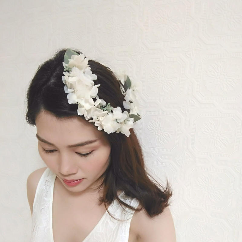 SNOW WHITE ~FLOWER TIARA~