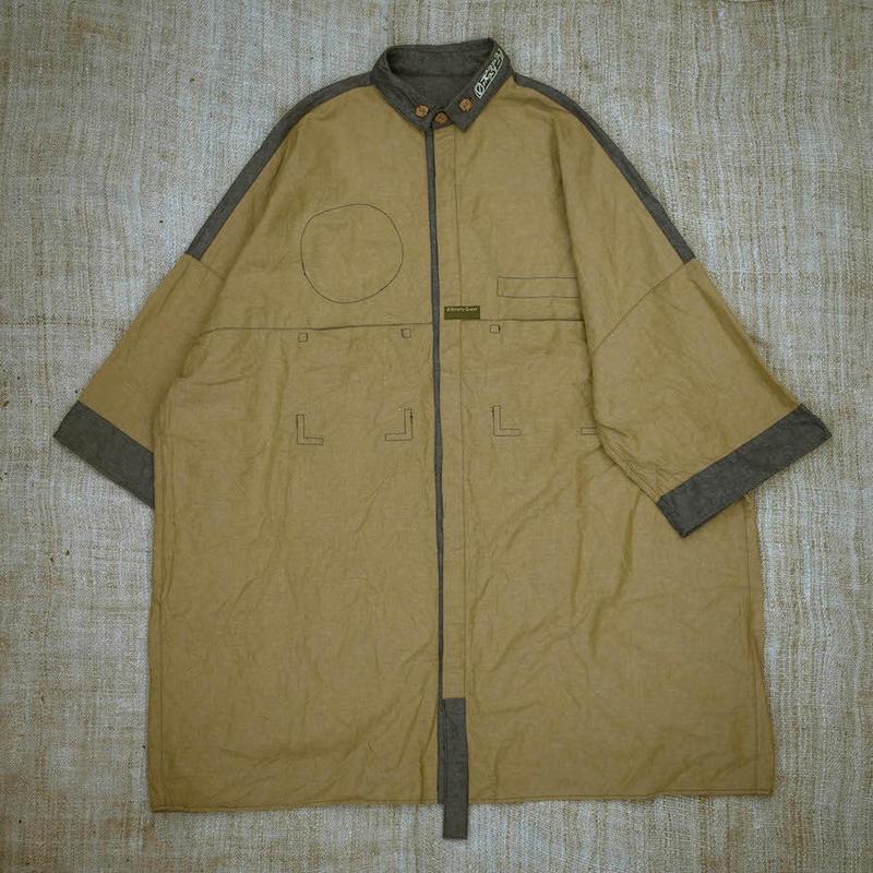 Uniform Shirt (L size  Yellow)