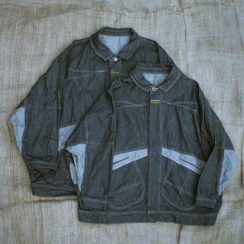 Denim Jacket : M size