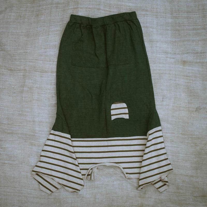 Rebirth Tee  Skirt (Dark Green)