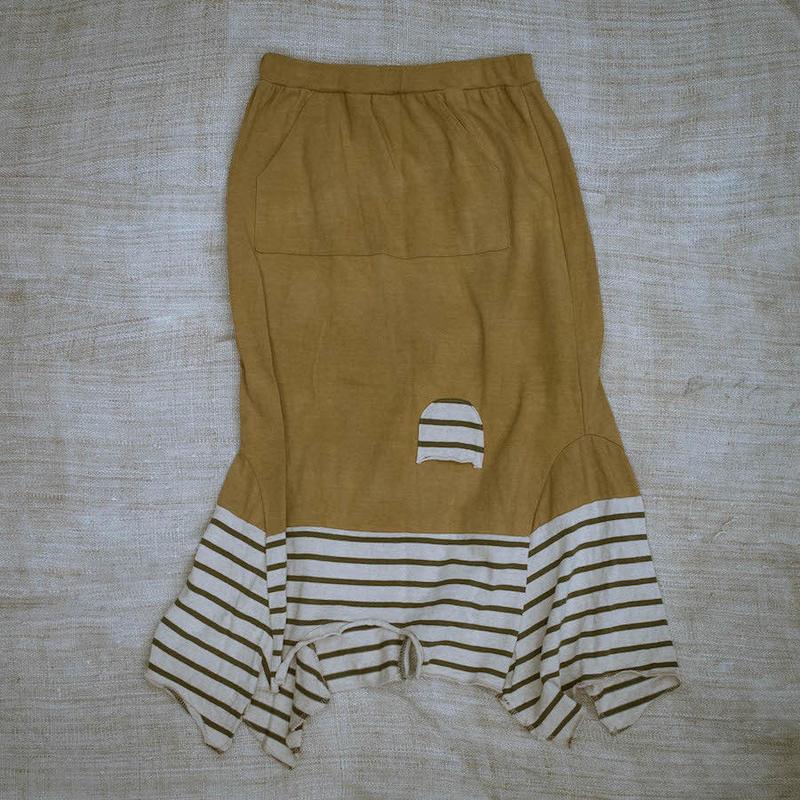 Rebirth Tee  Skirt (Yellow)