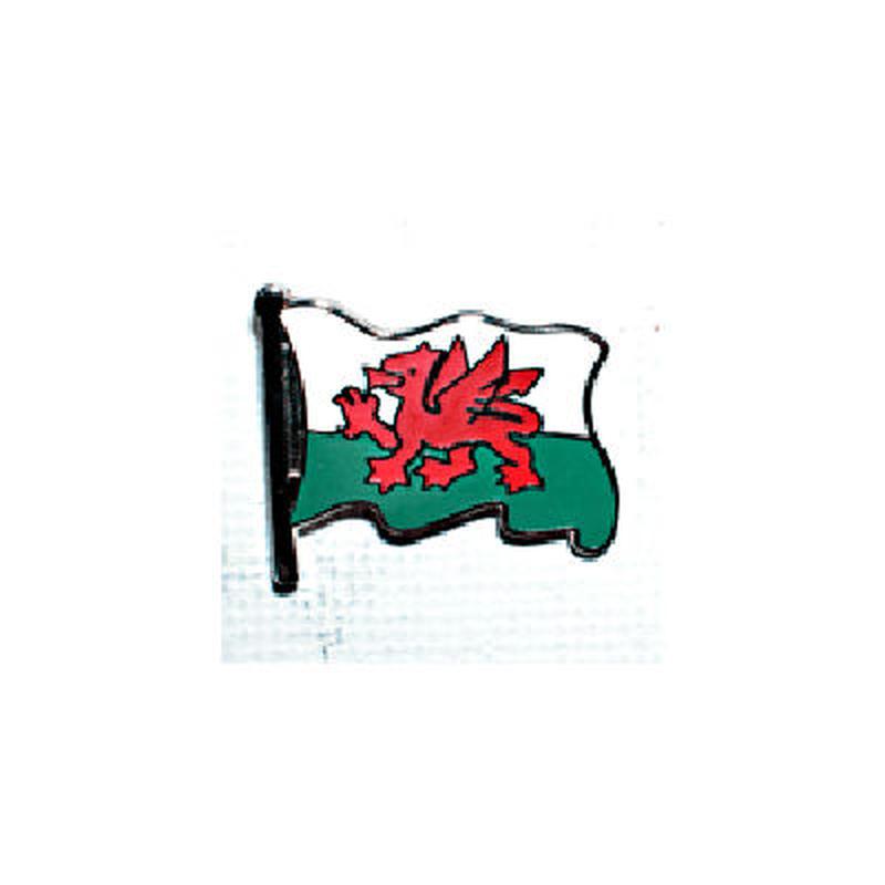 ピンバッジ:ウェールズ旗