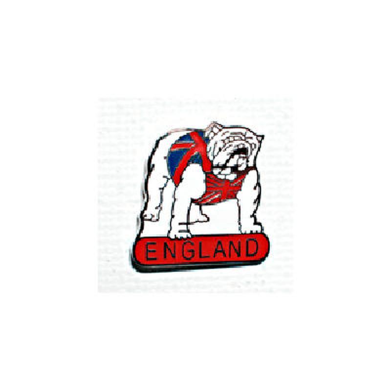 ピンバッジ:イングランド ブルドッグ
