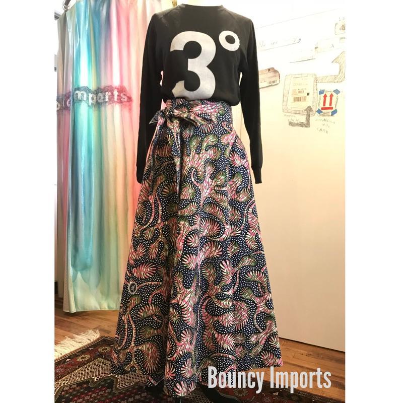 Bouncy Skirt  バウンシースカート ラップスカート dots  pink