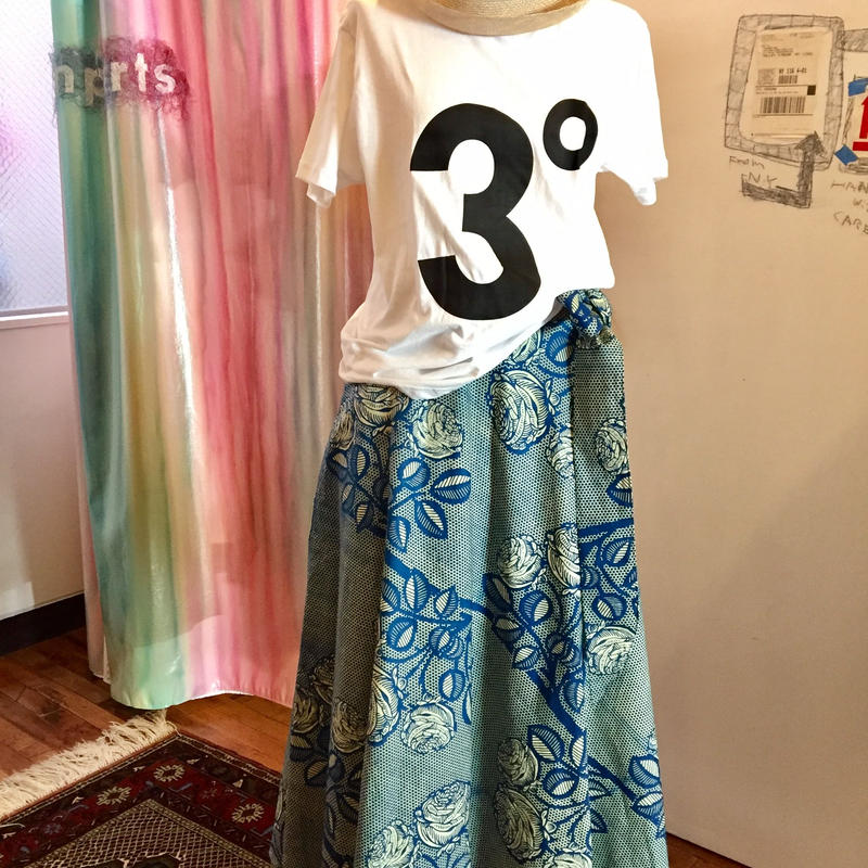 Bouncy Skirt バウンシー スカート ラップスカート rose