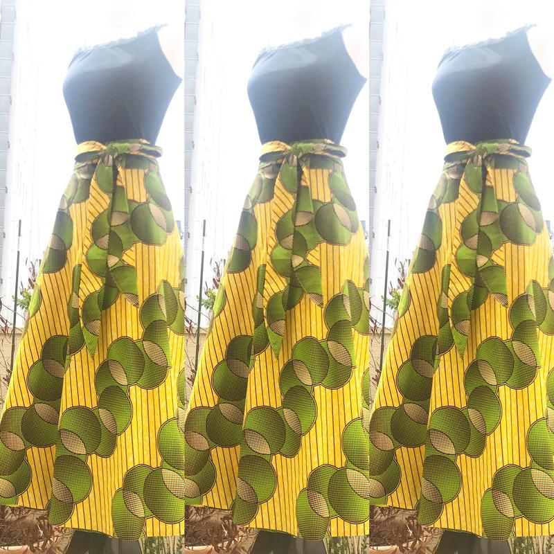 Bouncy Skirt  バウンシースカート ラップスカート  Y/G