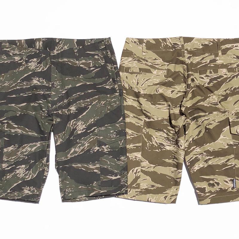 BxH Tiger Camo Six Pocket Half Pants