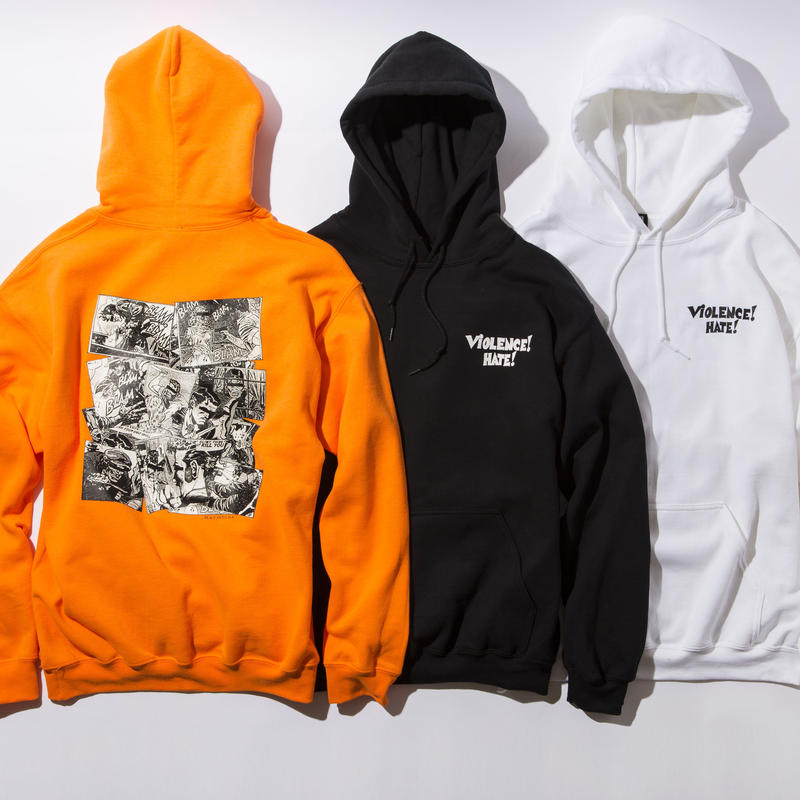 BxH Violence Hate Pullover Pk