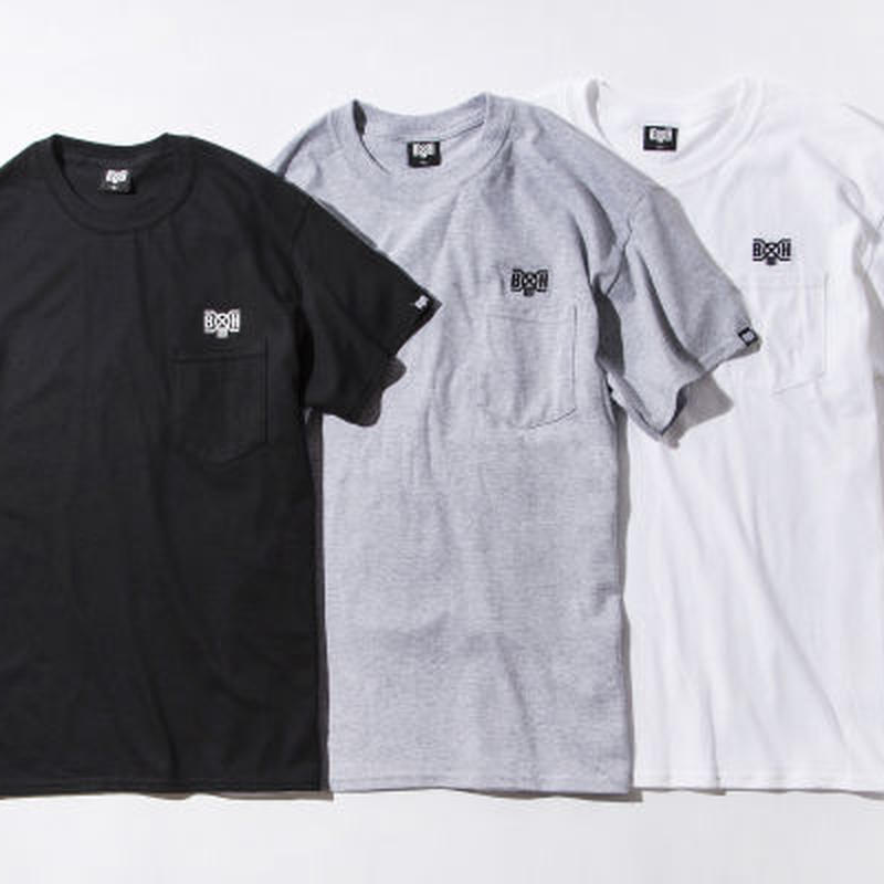 40%OFF BxH Logo Embroidery Pocket Tee