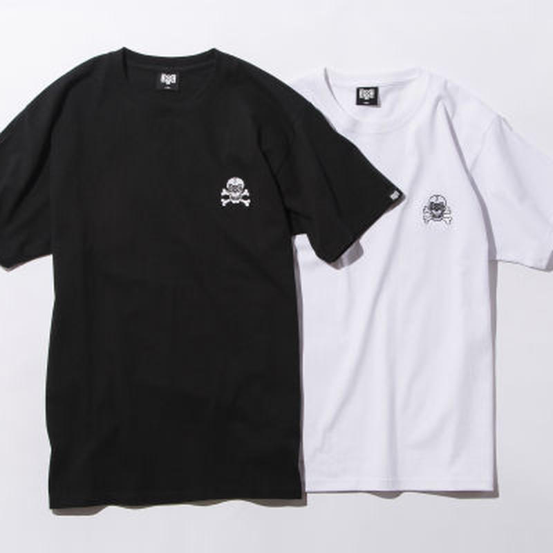 40%OFF BxH Logo Skull Embroidery Tee