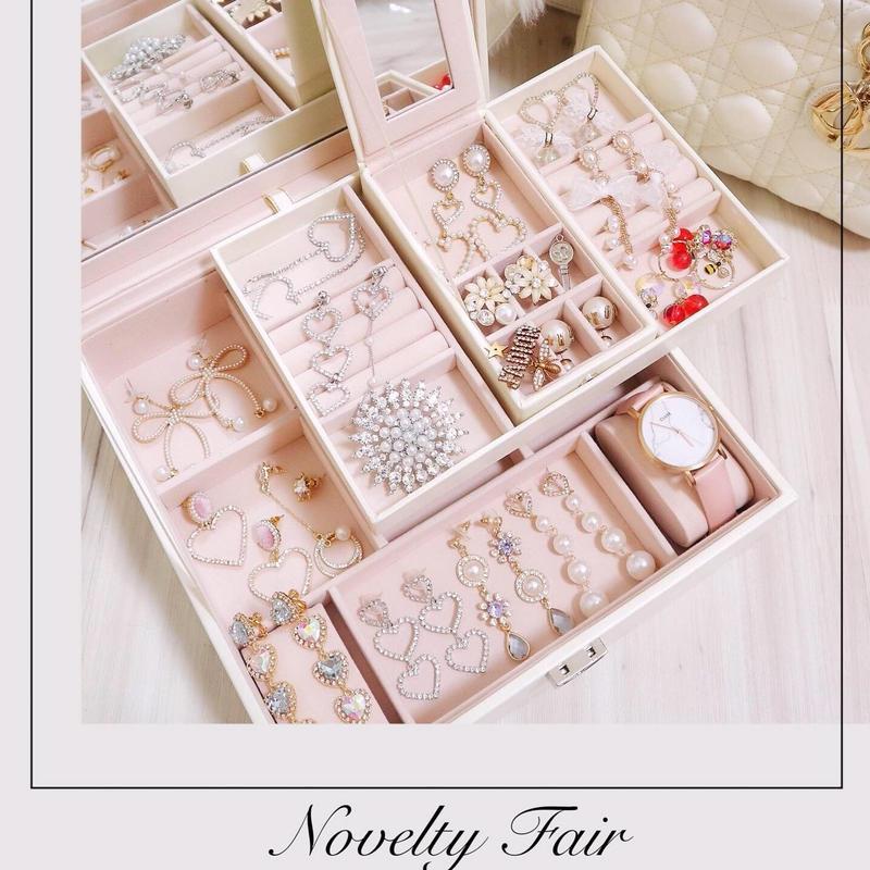 6/22〜限定ノベルティ♡Honey pink Accessory Box
