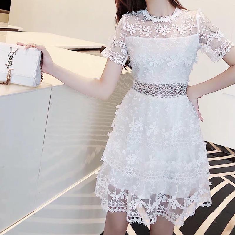 Flora lace lady dress(No.300677)