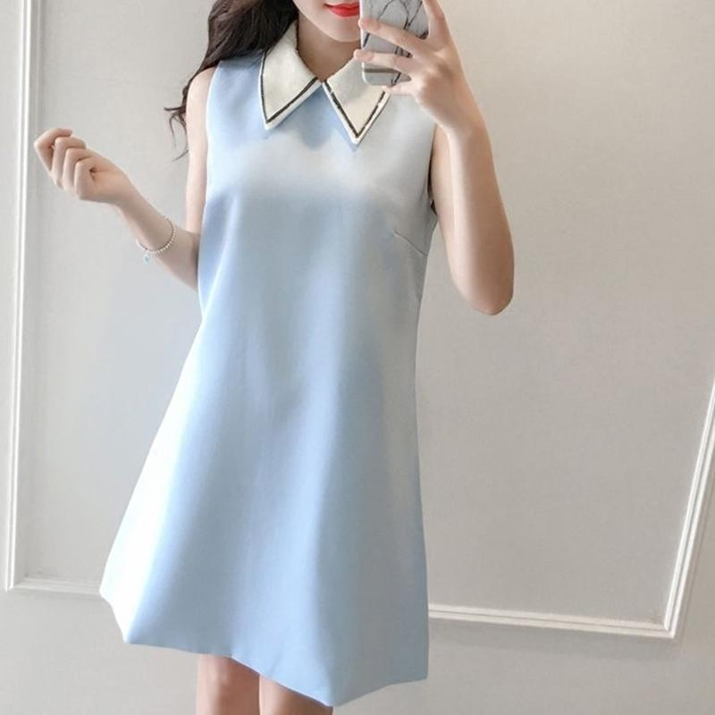 一部即納♡Dolly collar one-piece(No.300373)
