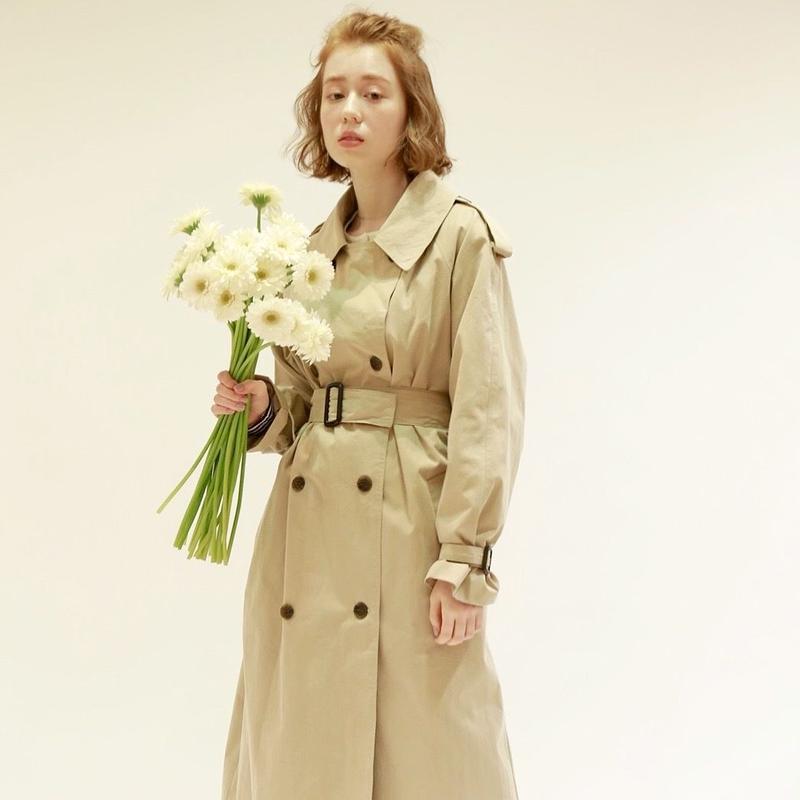 mila trench coat