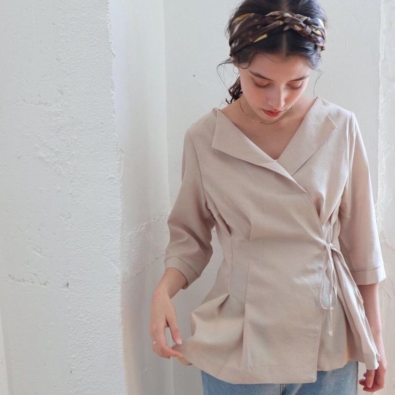 deux cache blouse