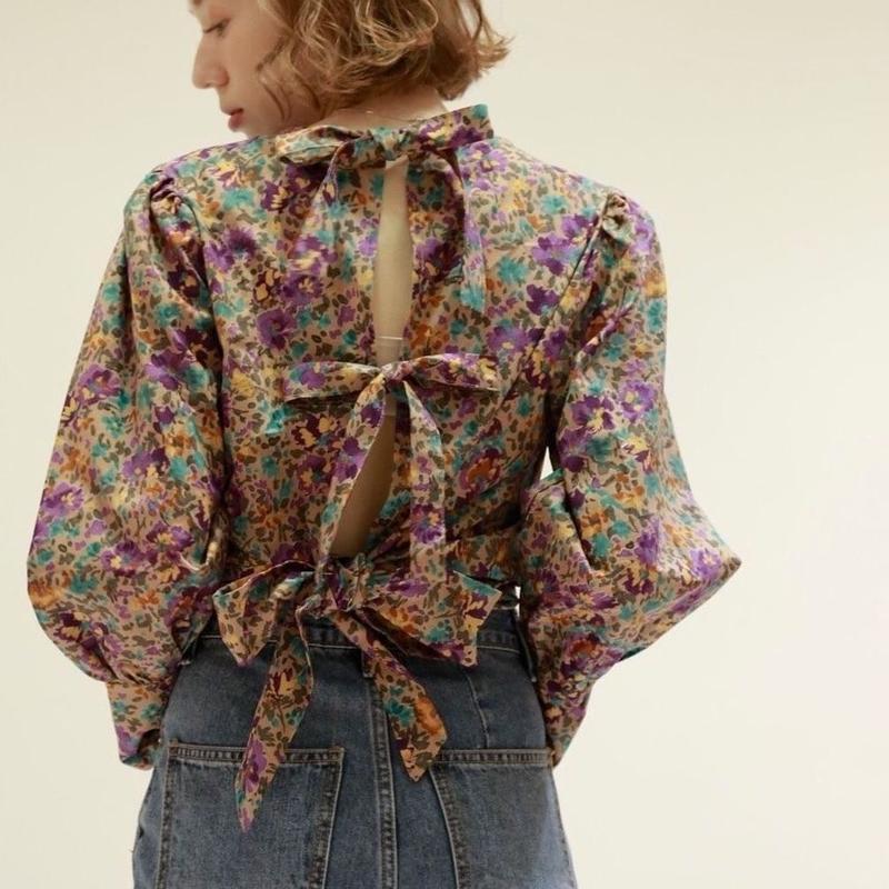 bouquet blouse