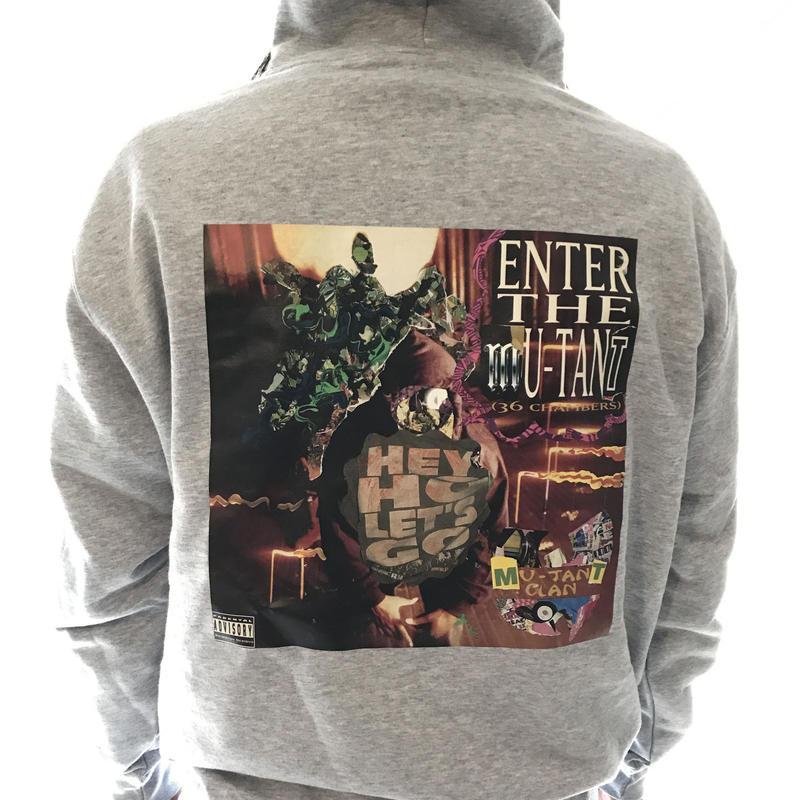 ENTER THE MUTANT ZIP PARKA  (Grey)