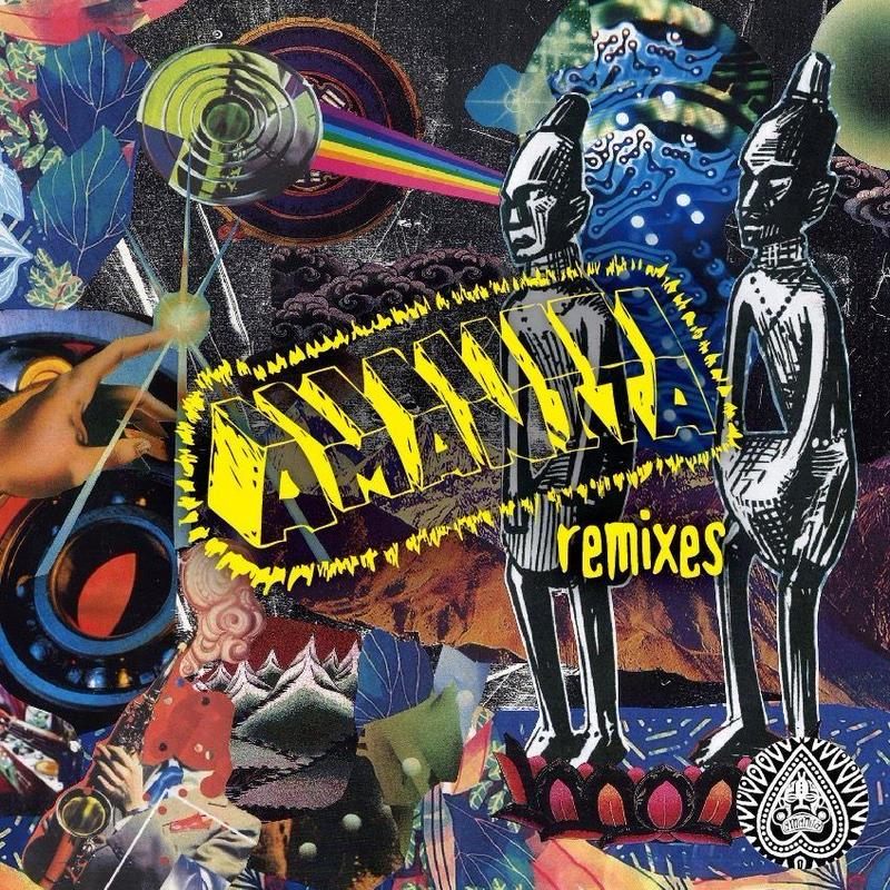 Various Artists / AMANITA remixes (cd)