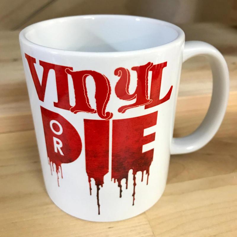 VINYL OR DIE MUG CUP