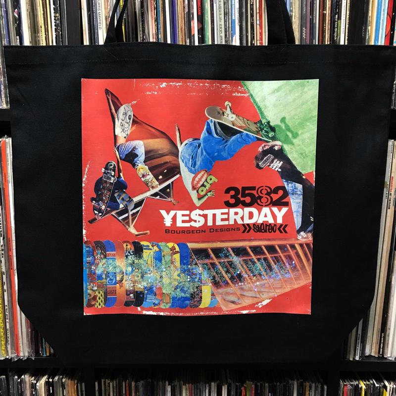 ¥E$TERDAY RECORD BAG