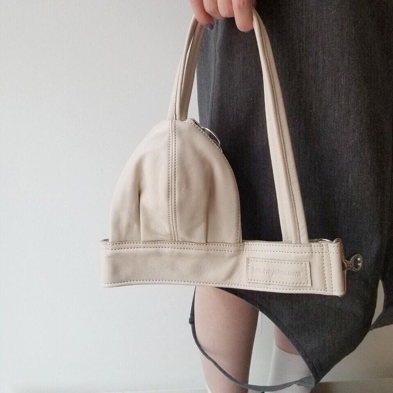 kotohayokozawa / Bra Bag /  OFF WHITE