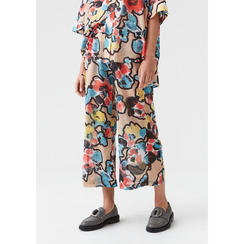 HOPE / Lab Trouser / Printed Flower