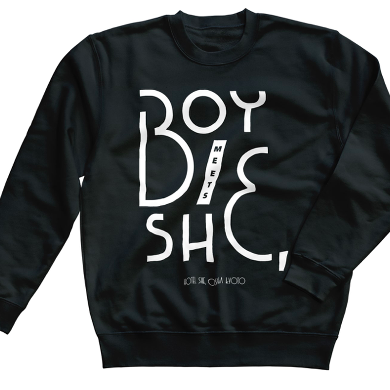sweat black / bold