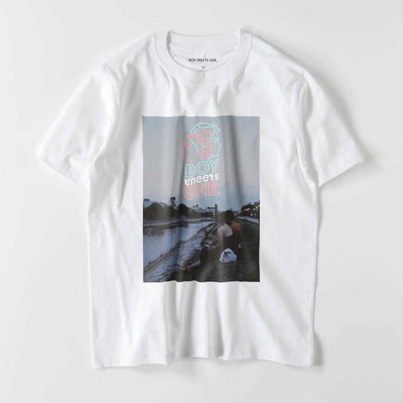 shirt white / riverside