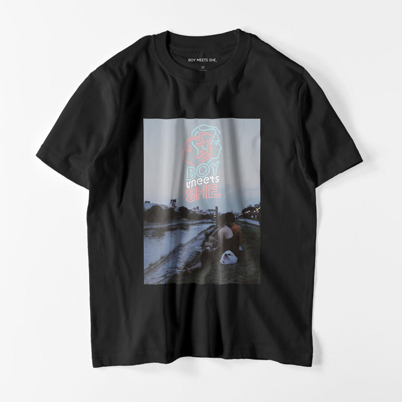 shirt black / riverside