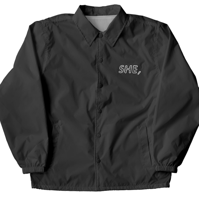 coach jacket / she,