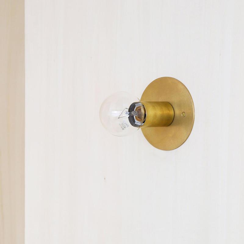A05-S / BR E26 BRACKET LAMP / SOLID BRASS