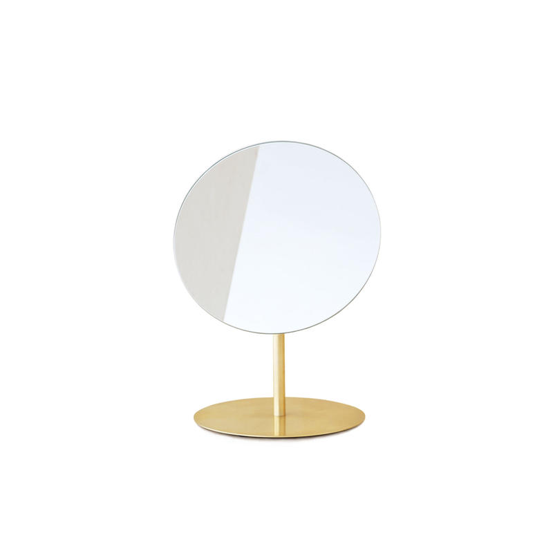 MAKEUP MIRROR_BRASS