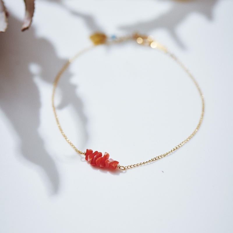 赤珊瑚ブレスレット