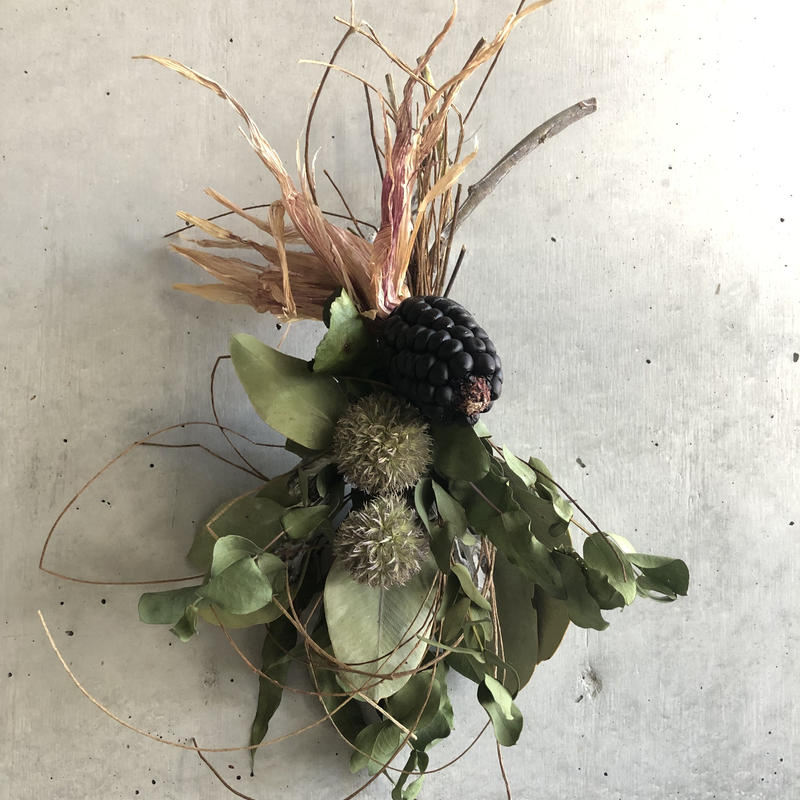 【Dry flower】ユーカリ×ユーカリのスワッグ