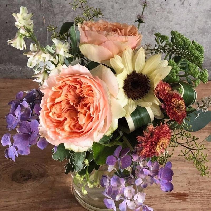 【定期便】フローリストが選ぶおうちのお花セット