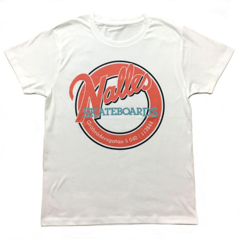 NALLE'S SKATEBOARDS T-Shirt _WHITE