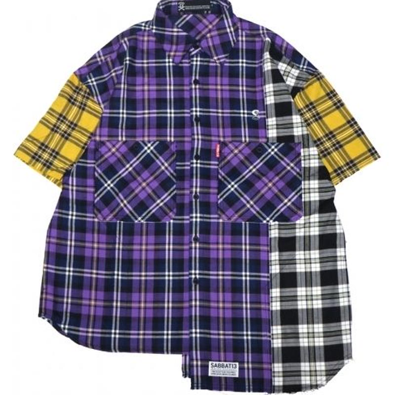 SHABBY S/S CHECK SHIRTS