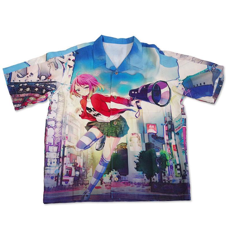 ブリ子 オリジナルアロハシャツ