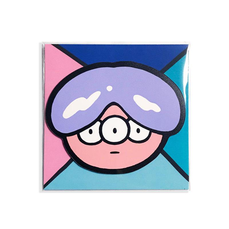 FACE MAGNET -Purple-