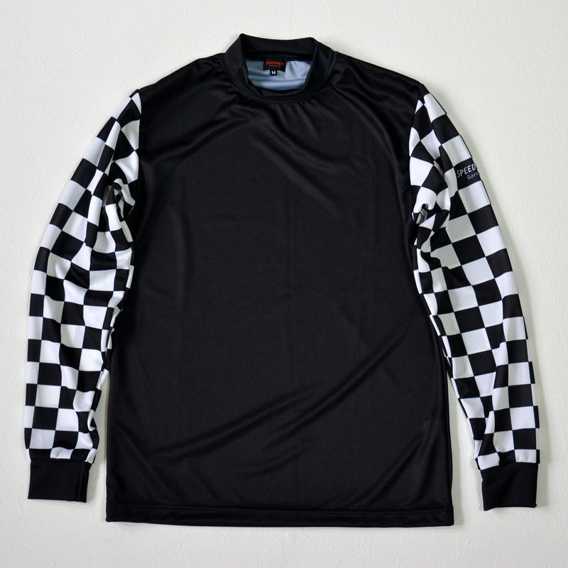 MX Jersey / Checker x Black