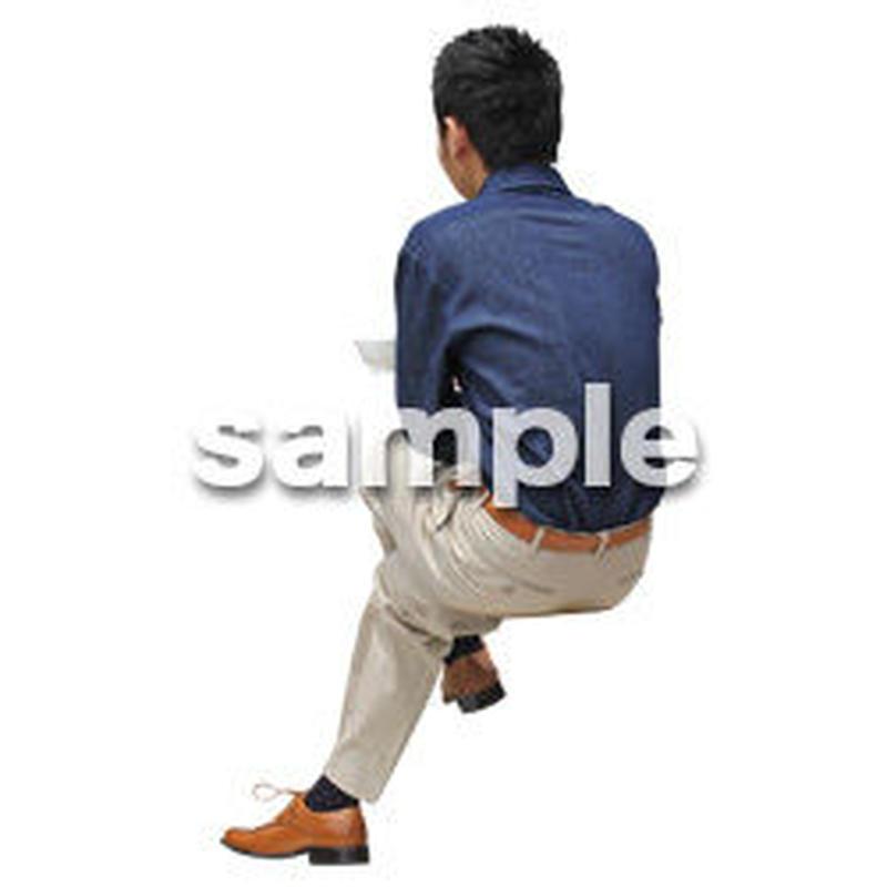 人物切抜き素材 アーバン・ショッピング編 M_488