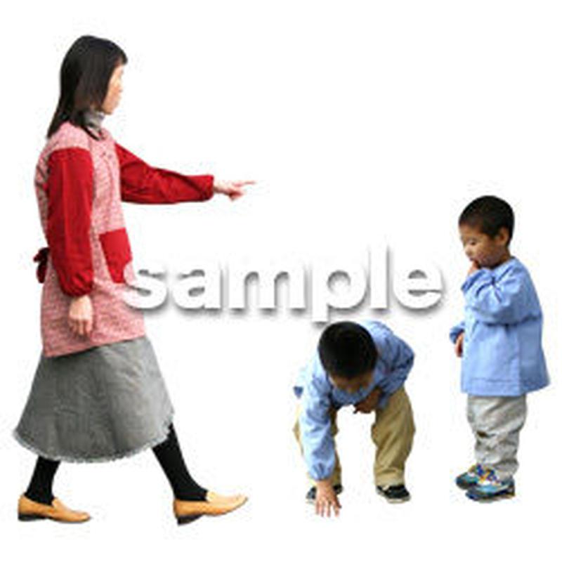 人物切抜き素材 ワーキング編 K_399