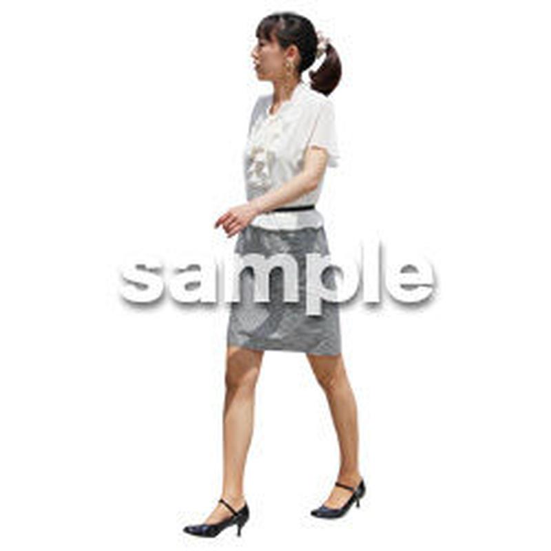 人物切抜き素材 ベーシックファッション編 P_172